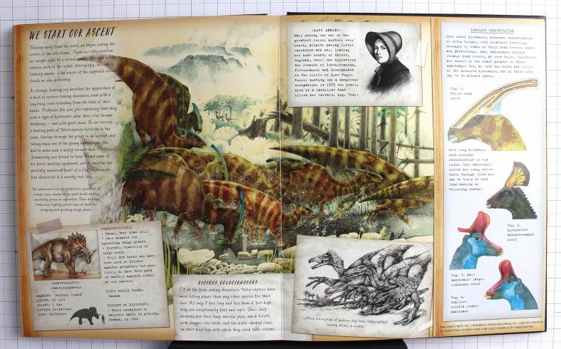Dinosaurology Spread