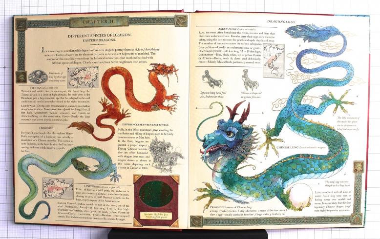 Dragonology Spread